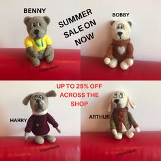 Needle Felted Animals, Felt Animals, Needle Felting, Dog Lover Gifts, Dog Gifts, Dog Lovers, Felt Gifts, Quirky Gifts, Colorful Animals