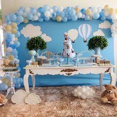 Chá de bebê nuvem: fofura em dobro para a festa - Chá de Bebê - EuNenem.com