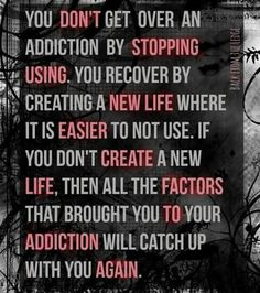 There are some scary things in our world today, but none is more scary than an addiction to drugs and alcohol. It's a growing problem in our society, and alcohol and drug addiction has become a tough nut to crack, so to speak. Drugs and alcohol make. Sober Quotes, Sobriety Quotes, Life Quotes, Sobriety Gifts, Addiction Recovery Quotes, Relapse Prevention, Recovering Addict, Celebrate Recovery, Sober Life