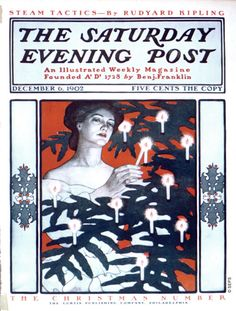 Lighting the Christmas Tree by J.J. Gould & Guensey Moore, December 6, 1902