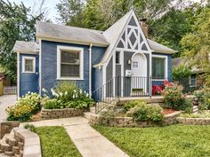 Play House On Pinterest Garden Sheds Little Cottages And Cottages