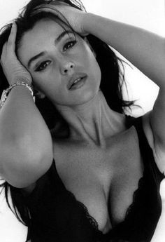 Monica Bellucci - Italian actress.  Monica is classically beautiful at 49 in 2013