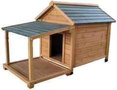 Insulated Cedar Dog Houses, For the days that Gator just dosen't want to come inside :)