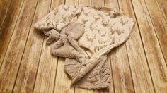 Minky Baby Blanket Deer baby blanket Baby by CraftCreationsbyEB