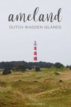 Ameland is one of the five Wadden Islands located off the northern coast of the Netherlands, and it's the perfect place to do...pretty much nothing. Click through to learn more about this idyllic Dutch getaway spot. | #Netherlands