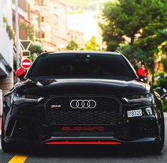 This particular thing is a quite inspiring and awesome idea Rs6 Audi, Audi Allroad, Peugeot, Volvo, A3 8p, Black Audi, Black Cars, Jaguar, Porsche