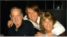 Keith with his Mom and Dad