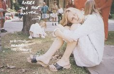 """""""Do You Remember The First Time?"""" : A vfile by Fan the cast of The Virgin Suicides photographed by Corinne Day for The Face magazine May text by Sofia Coppola Wooden Sandals, Wooden Clogs, Sofia Coppola Movies, Dr Scholls Sandals, The Virgin Suicides, Kirsten Dunst, Do You Remember, Celebrity Feet, Photo Dump"""