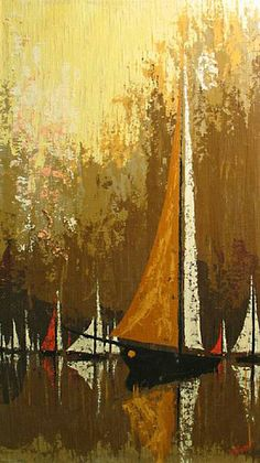 MID-CENTURIA : Art, Design and Decor from the Mid-Century and beyond: Mid Century Nautical Paintings