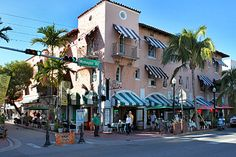 I've always liked Hispaniola Way off Washington Ave on Miami Beach. Classic Spanish architecture, South Florida style. And there aren't many walking districts. With Lincoln Road, too, Miami Beach got a lot of things right.