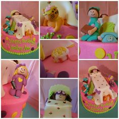 Slumber party cake! search girlie girl sweets on facebook