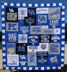 6 Details that make a t-shirt quilt look extraordinary -- not sure about this, but it's worth looking at