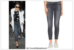 Best Dark Jeans as seen on Celebs - Selena Gomez is wearing the JBRAND Close cut Super Skinny Crop Dark Jeans, now on SALE for $50 USD, down from original price of $178 USD.