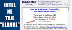 PC-urile au devenit cu 30% mai slabe in urma update-ului care repara vulnerabilitatea Meltdown - PC-uri MAI SLABE PESTE NOAPTE - REZOLVAREA update Meltdown. #videotutorial #Meltdown