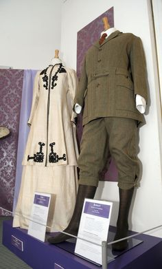 Downton Abbey costumes go on display Nuneaton Museum.                   When in Europe must see downton  costumes