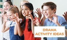 37 fun and interactive drama games for kids / can also be used as warm ups and team and friendship building activities / kid activities Drama Games For Kids, Drama Activities, Activities For Kids, Activity Ideas, Learning Activities, Art Education Projects, Education Humor, Art Lessons Elementary, Lessons For Kids