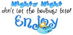Enjoy the night without bedbugs bite