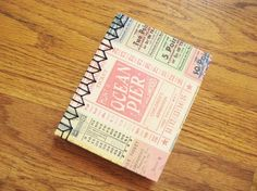 Make a hand bound journal with elaborate side stitching for yourself or as a gift. The stitching is a lot easier than it looks and is so much nicer to hold than a spiral bound edge. Supplies and Equipment – sharp utility knife and cutting surface BE VERY CAREFUL WITH THE SHARP BLADE – rulers …