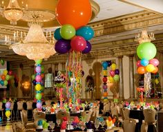 Bat Mitzvah Centerpieces And Themes | Bat Mitzvah Party Ideas | Happy Party Idea