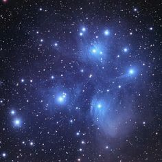 Pleiades star cluster - captured by Chuck Manges using an Orion ED102CF…