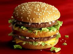 I just love eating burgers <3