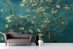 Almond Branches by Van Gogh Wallpaper