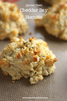 Gluten free cheddar bay biscuits | Gluten free food, recipes