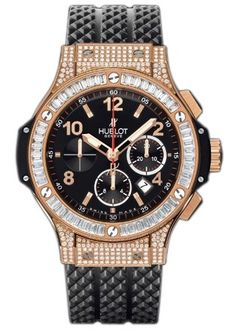 Hublot Big Bang 44mm Red Gold Chronograph Diamonds 301.PX.130.RX.094 $63950