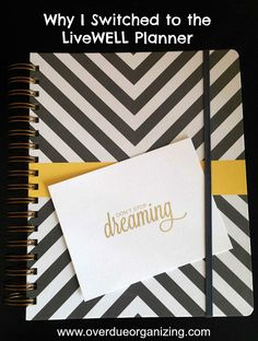 For the past few years I have been using the Erin Condren Life Planner, but I recently discovered the Inkwell Press LiveWELL Planner. Here's why I switched!