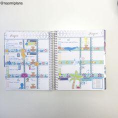 This weeks layout in my @erincondren horizontal life planner! #erincondren #ec #lifeplanner #erincondrenlifeplanner