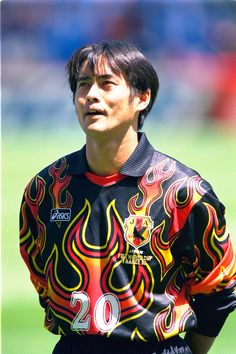 Japanese goalkeeper kit at 90'S