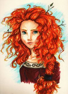 Merida by ~peevelmouse on deviantART