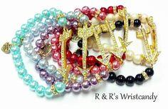 Arrow Beaded Bracelets by RandRsWristCandy on Etsy, $8.00
