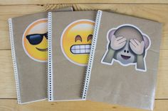 Decora tus cuadernos con EMOJIS | HiIAmSayilHiIAmSayil