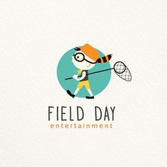 Logo design made for a company specialized in animated and live action entertainment for kids & family audiences.