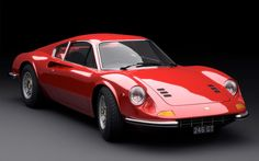 Ferrari Dino - a car I accidentally backed over in my SUV... Oops