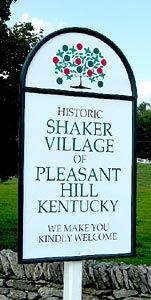 pleasant hill ky one of my most favorite places on earth.  I've been going there since 1972