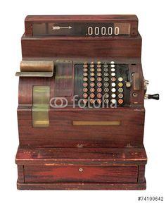 Sold today @fotolia: #antique #cash #register #banking #finance #money #business https://eu.fotolia.com/id/74100642