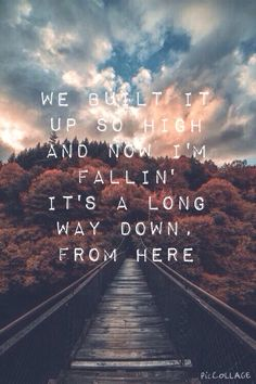 Long Way Down ~ One Direction