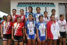 CICLISMO JUVENIL FEMENINO: Por equipos, San José Oro - Belén A Plata  - Belén Bronce.