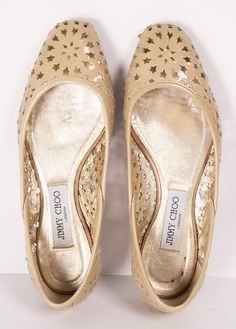 "Jimmy Choo ""Wand Flat"" with a Starry Cutout <3 SO cUte!"