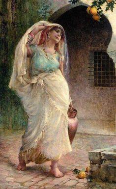 Un jour « Ahmama » découvrit un œuf étrange et imagina qu'elle devrait le prendre à dos de veau. Elle pensa le prendre et le préserver comme si elle avait trouvé une véritable fortune. Elle scruta …