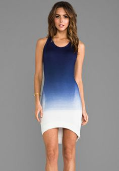Saint Jo Hi-Lo Dress in Sailor Ombre at Revolve Clothing - Free Shipping!
