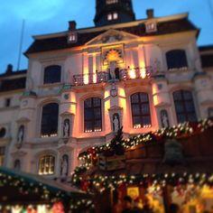 Weihnachtsmarkt am Rathaus in Lüneburg