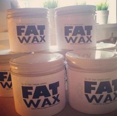 FAT Wax (available in 50g and 200g jars; Natural or Antique/Dark)