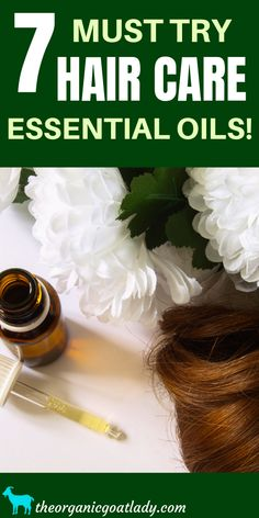 7 Must Try Hair Care Essential Oils! - Natural Hair Care – Essential Oils For Hair – Essential Oil Recipes – Essential Oil Uses – Best Essential Oils For Hair – Essential Oil Benefits – Greasy Hair – Oily Hair - Essential Oils For Face, Thyme Essential Oil, Essential Oil Uses, Natural Hair Conditioner, Oily Hair, Frizzy Hair, Hair Care Oil, Oil For Hair Loss, Greasy Hair Hairstyles