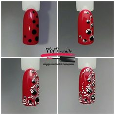 Latest nail trends the furry nails have taken the nails art to a whole new level. Nail Art Hacks, Gel Nail Art, Red Nails, Hair And Nails, Cute Nails, Pretty Nails, Nail Art Arabesque, Nail Art Techniques, Nail Art Designs