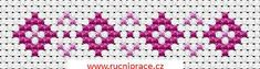 Border, free cross stitch patterns and charts - www.free-cross-stitch.rucniprace.cz