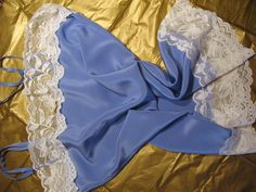 Light Blue Silk Cami