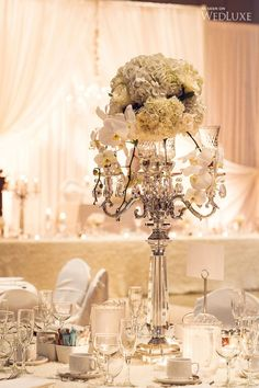 WedLuxe– An Elegant White and Silver Wedding   Photography by: Yaletown Photography  Follow @WedLuxe for more wedding inspiration!